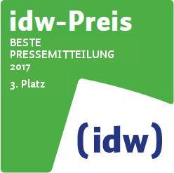 idw-Preis 2017