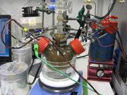 Versuchsaufbau, mit dessen Hilfe das Puzzle gelöst wurde: Sensoren  zeigten die Konzentrationen von Stickstoff, Sauerstoff und anderer  Stickstoffverbindungen an und Leitungen führten Probenmaterial direkt  zum Massenspektrometer.