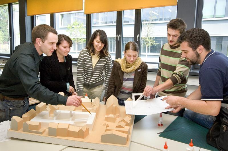 gute platzierung f r architekturstudium der hochschule