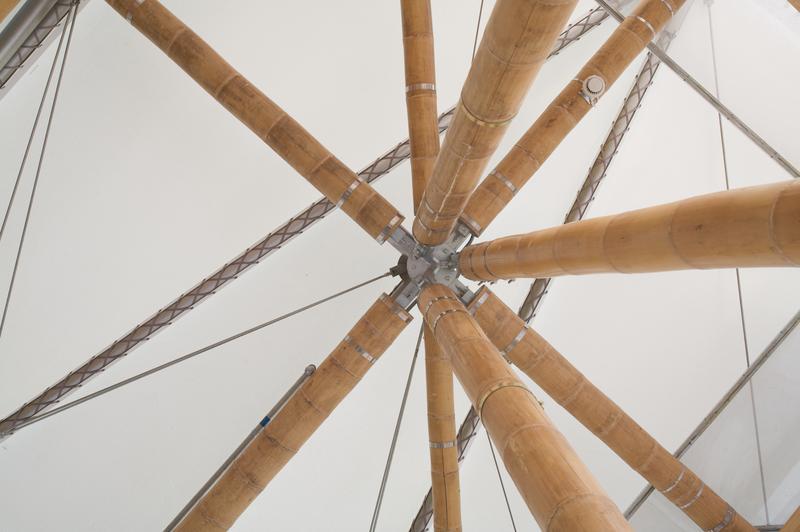 bauen mit bambus und beton tu wissenschaftler entwickeln tragf higere bambuskonstruktion. Black Bedroom Furniture Sets. Home Design Ideas