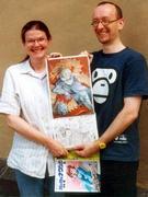 Mit modernen japanischen Comics, den Mangas, setzen sich die Japanologen Martina Schön-bein und Stephan Köhn auseinander.