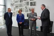v. l. n. r.: J. Hahlen, C. Rogall-Grothe, C. Quennet-Thielen, G. Wagner
