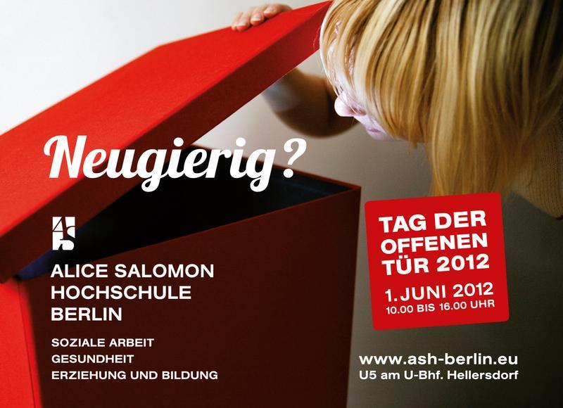 Tag der offenen t r an der alice salomon hochschule berlin for Tag der offenen tur berlin
