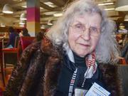 Rosemarie Achenbach aus Siegen wird bald 90 und arbeitet an ihrer Doktorarbeit an der Universität Siegen.
