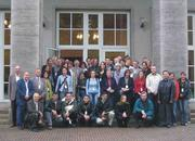 "Foto 1: Guests of the ""Brimstone Wedding"" October 21/22 in front of the Forum of the Federal Agricultural Research Centre (FAL) in Braunschweig"