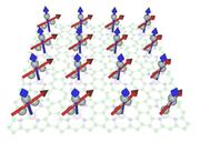 A multi porphyrin array to which tiny metal nanoclusters are attached: These and other structures are the research focus of Roland Mitric.