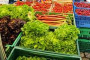 Gemüse vom Wochenmarkt: Das Projekt will klären, wie deutsche Städte über die Ernährung nachhaltiger werden können.