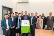 Official inauguration of the German-Chinese Center for Biomass Research at DBFZ. Picture: © DBFZ