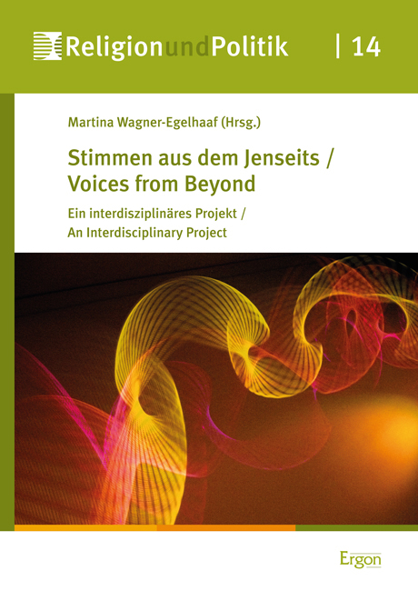 "Cover ""Stimmen aus dem Jenseits / Voices from Beyond"