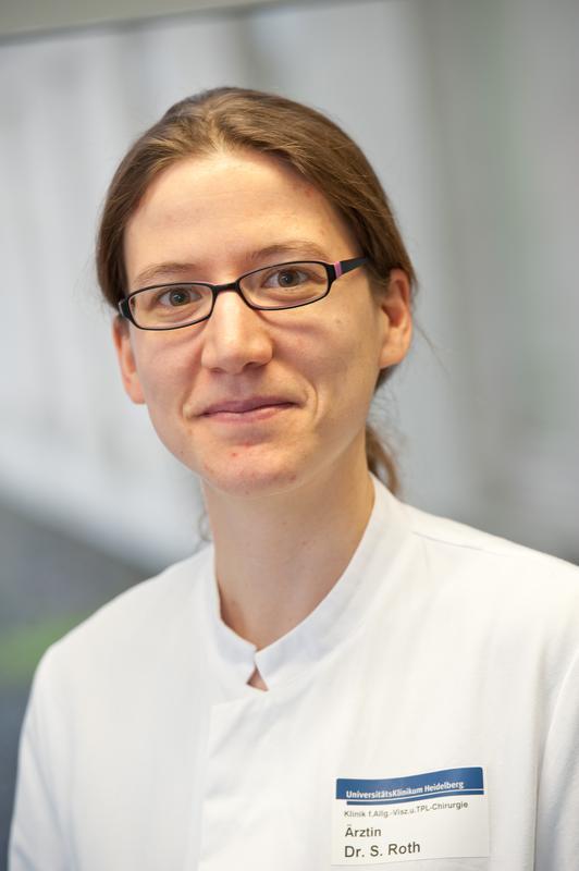 Dr. Dr. med. Susanne Roth, Chirurgische Universitätsklinik Heidelberg.