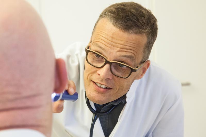 Prof. Martin Bornhäuser, Direktor der Medizinischen Klinik I des Dresdner Uniklinikums.