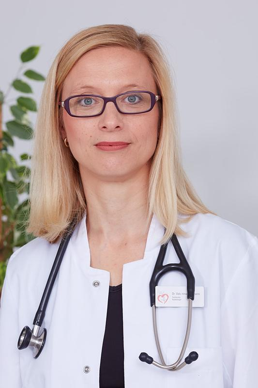 Erstautorin der Studie, Privatdozentin Dr. Valentina Puntmann.