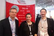 DZIF scientists (from left to right): Alexander Klimka, Sonja Mertins, Paul Higgins