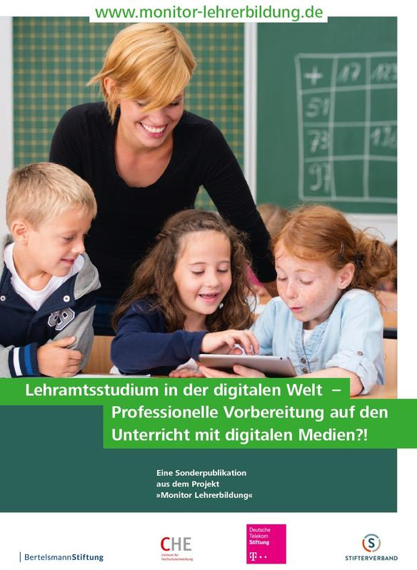 "Cover der Publikation ""Lehramtsstudium in der digitalen Welt"""