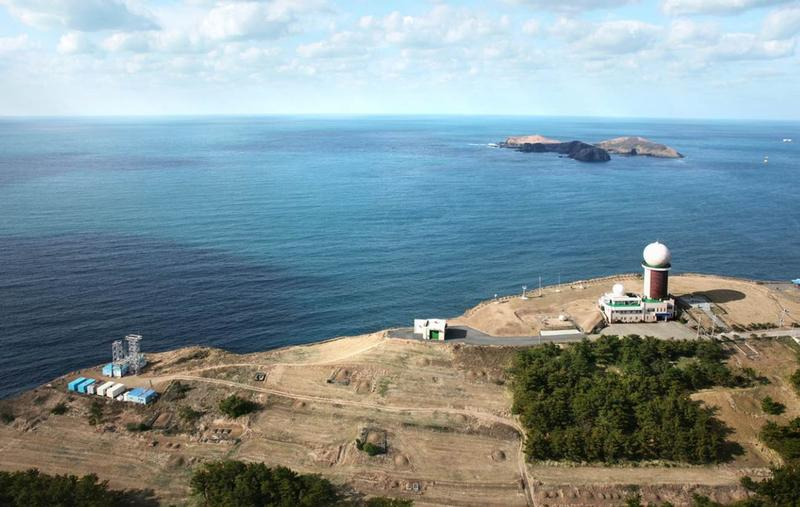 Gosan measurement station on Jeju Island to the south of the Korean peninsula where a rise in atmospheric CFC-11 concentration has been detected.