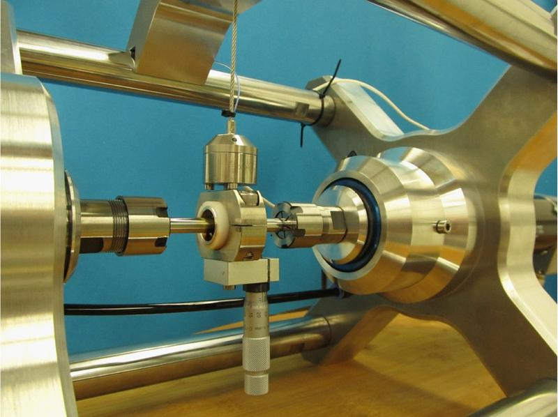 The new in situ tribometer can measure wear and friction values directly on the slide bearing during operation.