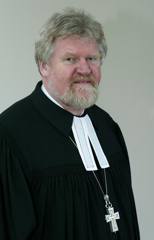 Präses der Evangelischen Kirche Westfalen Alfred Buß