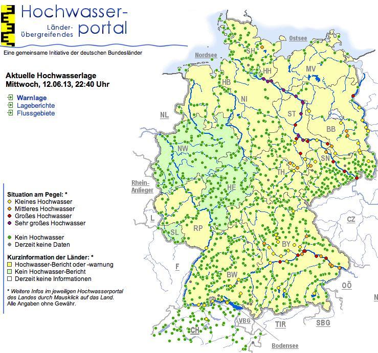 Idw Image For Datenflut Gegen Hochwasser Soziale Netzwerke