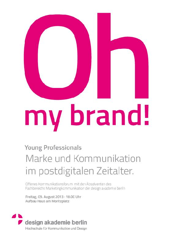 idw - Image for: OH MY BRAND! Marke und Kommunikation im ...