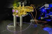 Fraunhofer IOF's quantum source. Designed to be fully operational even after extreme stress.