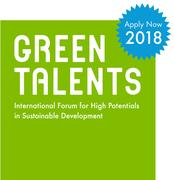 Green Talents Award 2018 - Apply now