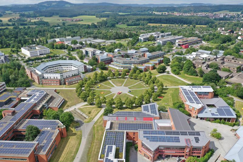 The Campus of the University of Bayreuth.