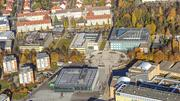Aerial photo of the Beitzplatz Campus